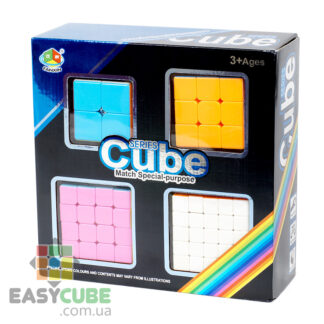 Купить подарочный набор кубиков Рубика FanXin (от 2х2 до 5х5) в Украине